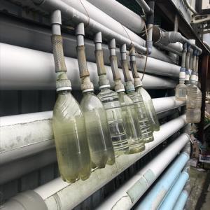ペットボトル雨水タンク ペットボトルの装着方法