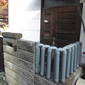 フェンス型雨水タンクの自作 雨水タンク自作4