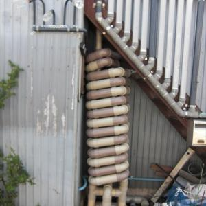 階段下雨水タンクの自作 出来上らないと解らない雨水タンク 雨水タンク自作8