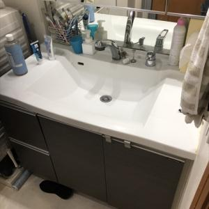 洗面台 ポップアップ式排水の修理 異常を感じたら早急に部品交換を