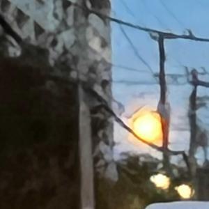 なんか月が大きい