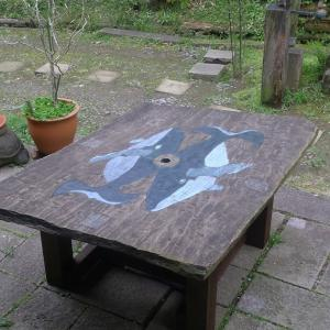 Restoration of the garden table