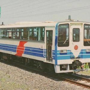 三重県を走る、伊勢鉄道です。