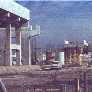 建設時の 旧国鉄 瀬戸線(現在の城北線)です