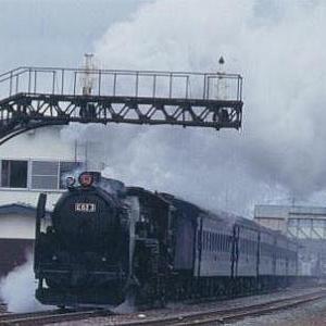 C62 3号機が復活しして SL ニセコ 号として運行していた頃です。