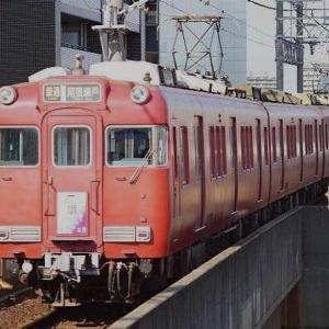 5月31日 日曜日 名古屋鉄道 瀬戸線 6000形電車です。