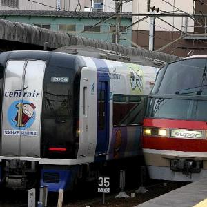 6/4 thu. 名古屋鉄道 セントレアフレンズ号、その2。
