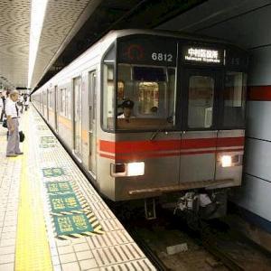 名古屋市交通局 桜通線 地下鉄6号線。