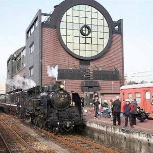 真岡鉄道 SL C11 325蒸気機関車、その2。