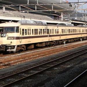 東海道・山陽本線で活躍した117系電車。