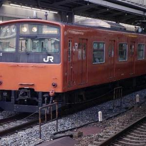 大阪環状線 201系電車。