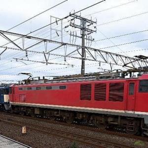 11/26 THU. JR貨物 EF510トップナンバーの電気機関車です。