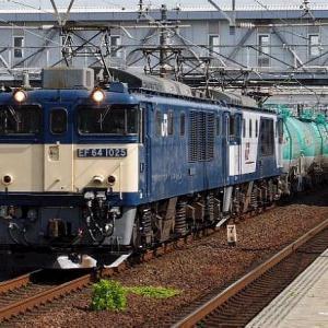 JR貨物 東海道稲沢貨物線を行く緑のタキです。