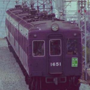 36年前の阪急電車です。その4