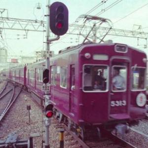 36年前の阪急電車です。その5