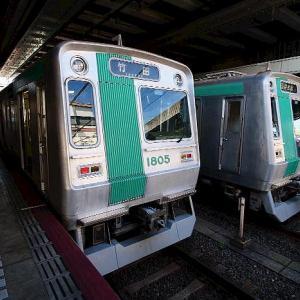 京都市交通局 烏丸線の車両、その2です。