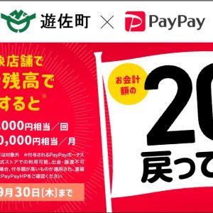 【8月1日〜9月30日】遊佐町がPayPayキャンペーン実施!還元率は20%