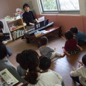 2月の出張♪音楽教室