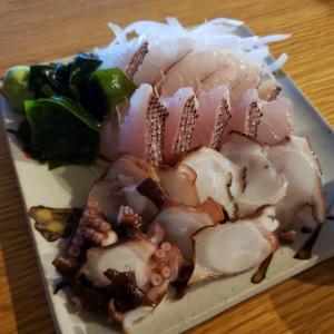 外間鮮魚店のお刺身で一人ぼっちの晩酌~夫仕事で会食の日