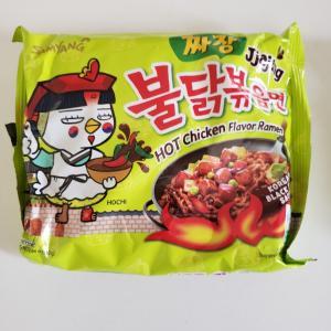 プルダックジャージャー麺@実家~普通のジャージャー麵と違う⁉