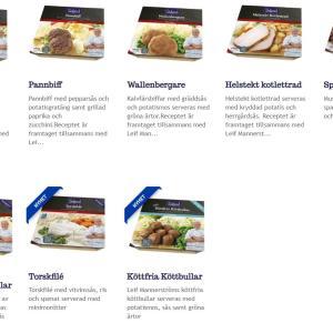 スウェーデンの冷凍食品ならコレ♪