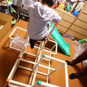 室内用のジャングルジム+すべり台で子どもの運動不足を解消!おすすめ3つと使ってみたレビュー【おうち時間】