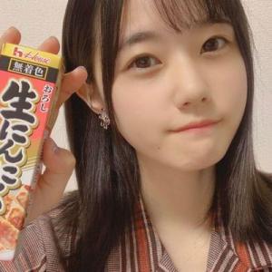 【STU48】「絶対的センター」瀧野由美子、生配信でニンニクチューブ1本飲み!「おいしい」 ファン驚きの声