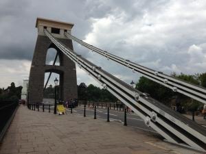 ブリストルっ子に愛される美しい吊り橋! Suspension Bridge in Bristol Gorge
