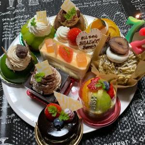 我が家のお祝いケーキ