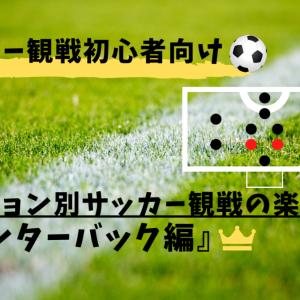 【初心者必見】友達にちょっと自慢できるサッカー観戦の楽しみ方②