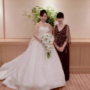 お客様の声:新婦様のお母さまの素敵なドレス姿♡マザーズドレスのご紹介