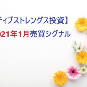 【レラティブストレングス投資】2021年1月のシグナルと購入銘柄
