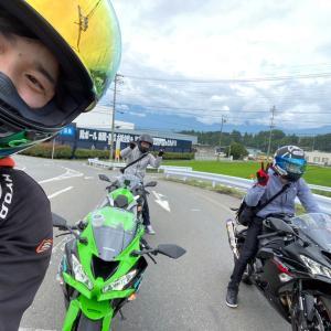 【マスツー練習】フレッシュマンツーリング【長野県kawasakiバイク屋】