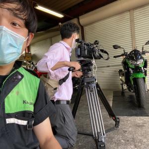 【密着取材】暑い日に熱く語りました【長野県kawasakiバイク屋】