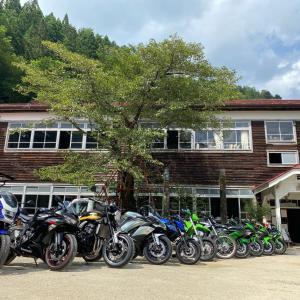 【ツーリング】ヤングな心で遠山郷へ【長野県kawasakiバイク屋】
