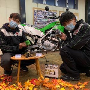 【バイク✖️キャンプ用品】お湯を沸かして最高の一杯を【長野県kawasakiバイク屋】