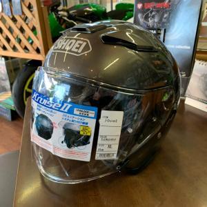 【ヘルメット】眼鏡スリットの加工もお任せください!【長野県Kawasakiバイク屋】