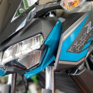 【Z250✖️綺麗な水色】2021年の新色カラーリングが入荷してきました【長野県バイク屋アクト】