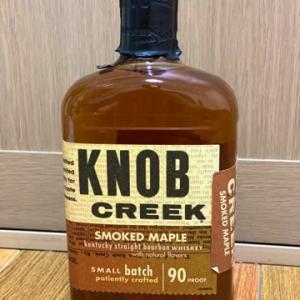 ノブクリーク・スモークドメープルバーボンは甘くて美味しいフレーバードウイスキー