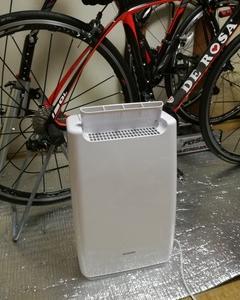 私のロードバイク部屋の湿度管理~湿度は大敵!