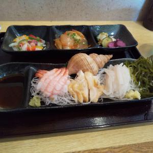 恵山で海鮮ランチ 麺とお食事処 菜の花