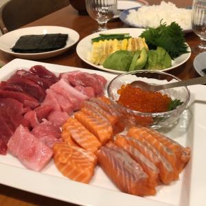 6歳の誕生日メニュー|アメリカで手巻き寿司