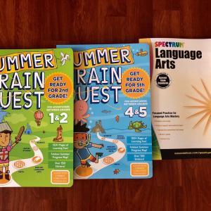 小学生向け!長い夏休みに向けて購入した学習教材