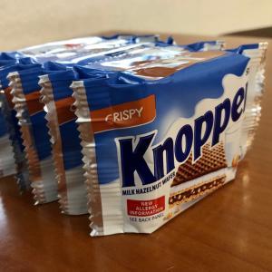 【ALDI】Knoppers 買い物客が大量にカゴに入れていたお菓子