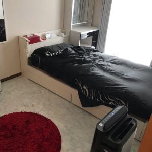 寝室のレイアウト変更