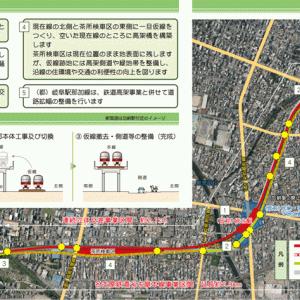 名鉄の岐阜市内高架化!駅統合に線形改良もあり!まずは概要を確認!