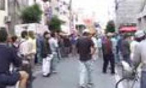 イタリアで放映された釜ヶ崎(西成)暴動の映像
