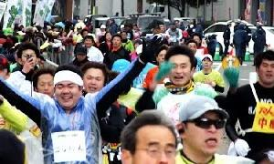 北九州マラソン2015 ⑪5時間20分~.ゴリけん.サンGL FINISH