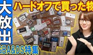 【ジャンク】蔵出し大放出!!HARD OFF(ハードオフ)で買った物 GBA&DS特集