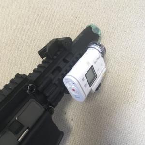 カメラマウントアタッチメントを加工
